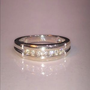 14k Men's Diamond Ring